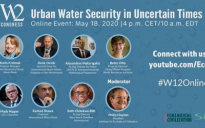 W12 international panel discussion: Urban Water Security in Uncertain Times