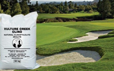 Exciting mineral enhances the soil on golf courses and gardens